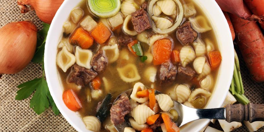 Domaća goveđa supa