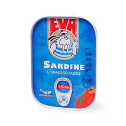 Sardina s paradajzom Eva 115g