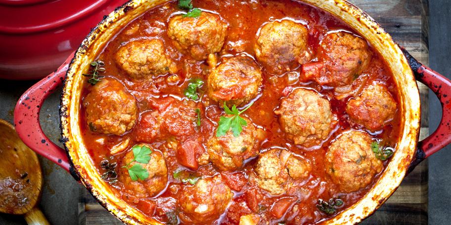 Ćufte iz rerne u paradajz sosu