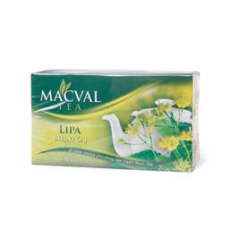 Caj filter lipa all natural Macval 50g