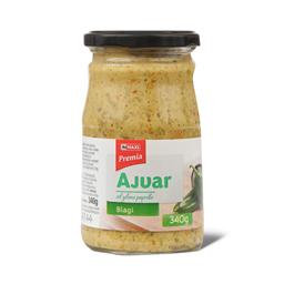 Ajvar blag od zelene paprike Premia 340g