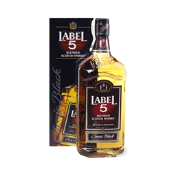 Whisky Label 5 Box 0,7l
