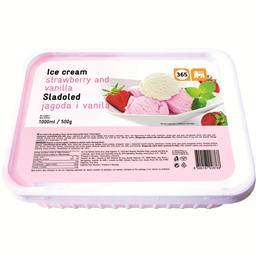 Sladoled jagoda vanila 365 1l/470g