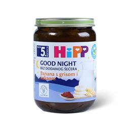 Kasica Hipp za l.noc-ban griz kakao 190g