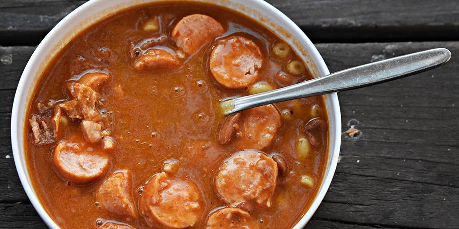 Supa sa kobasicama i krompirom