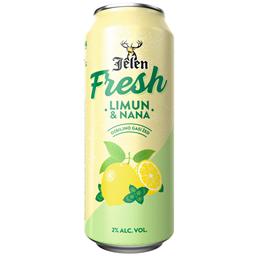 Pivo Jelen Fresh limun&nana CAN 0.5L