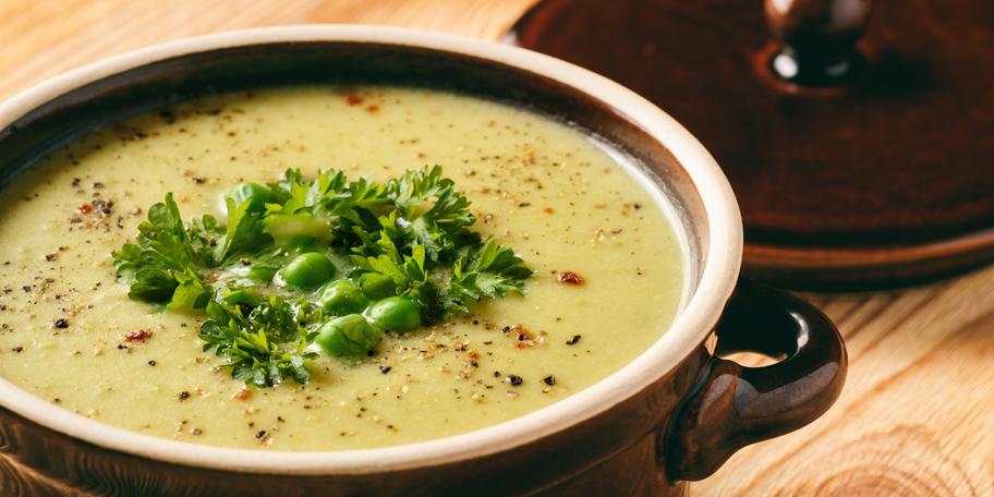 Krem supa od krompira i graška