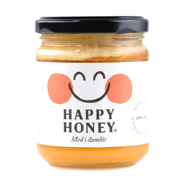 Med i organski djumbir Happy Honey 250gr