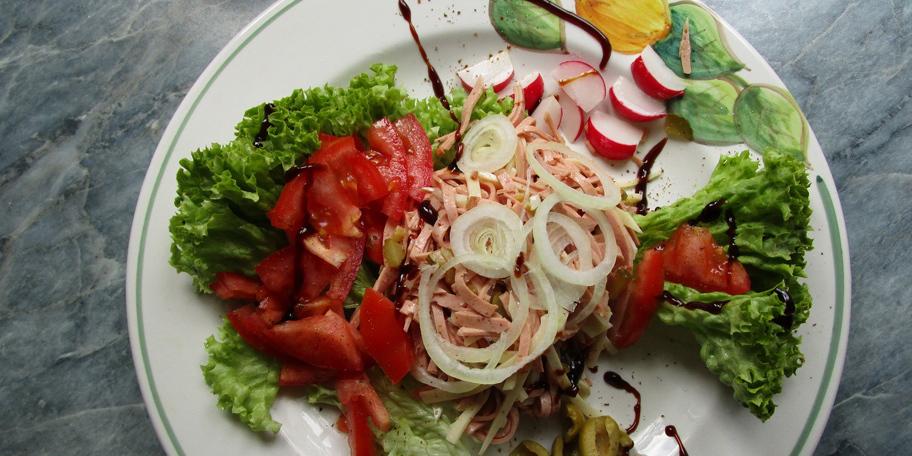 Studentska obrok salata