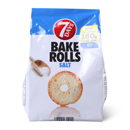 Dvopek Bake Rolls Natural 160g