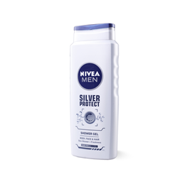 Gel/tusir.men Silver Prot.Nivea 500ml