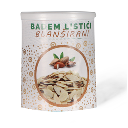 Badem listici blansirani Top Food 100g