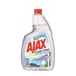 Sred.za staklo Ajax Crys.Clean/dop.750ml