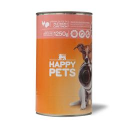 Hrana za pse/pilet.cur.Happy pets 1.25kg