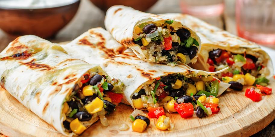 Vegeterijanska tortilja