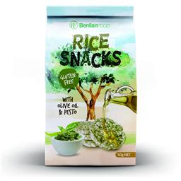 Rice Snacks Pesto Benlian Food 50gr