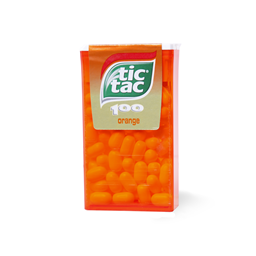 Bombone orange T100 Tic Tac 49g